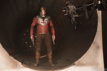 Marvel's Guardians Of The Galaxy Vol. 2 Chris Pratt (Star-Lord) on set. Ph: Chuck Zlotnick © 2016 MVLFFLLC. TM & © 2016 Marvel. All Rights Reserved.