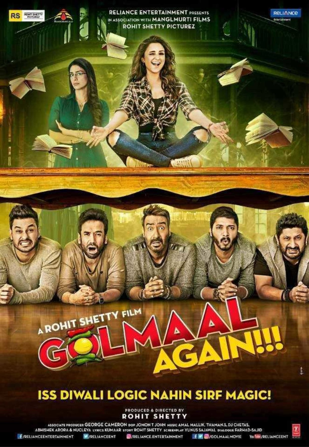 Golmaal Again (2017) (MUSIC VIDEO ALBUM) Untouched – BD50 DOLBY ATMOS TrueHD 7.1 ESuBS