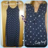 Maxi dress to cute blouse
