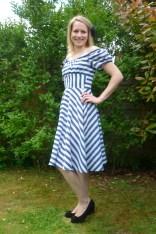 Sew La-Di-Da Vintage 1950s Gypsy Dress