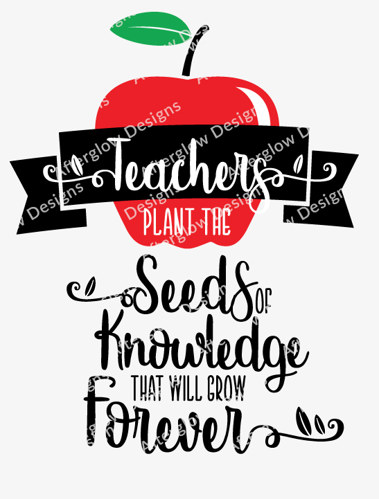 Teachers Plant The Seeds Of Knowledge That Will Grow