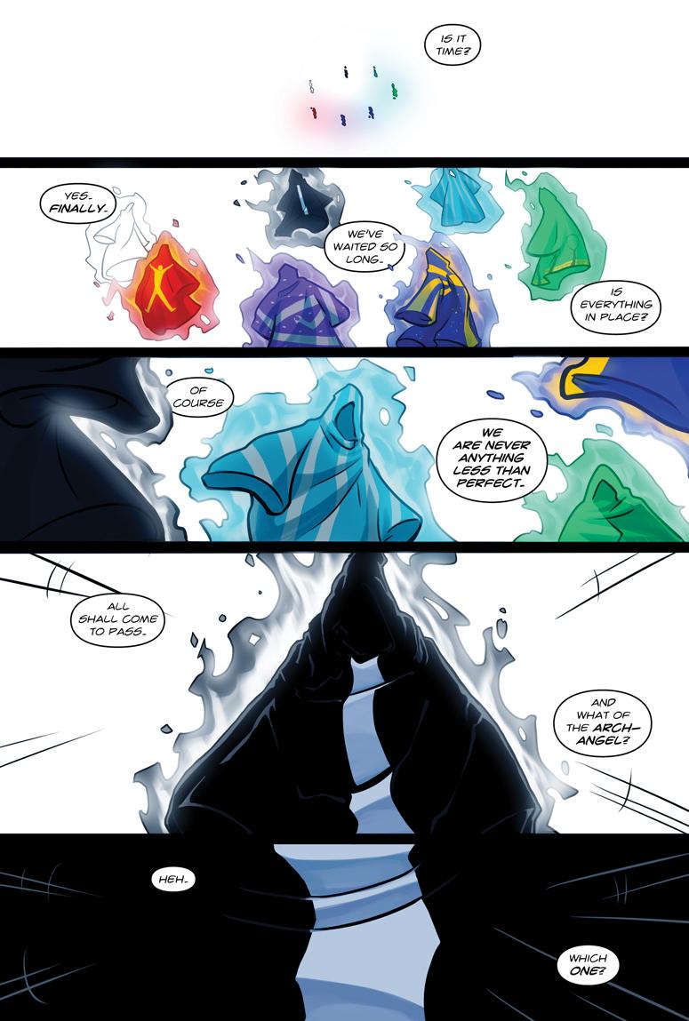 Afterlife Inc. Volume 4: Man Made God Page 23