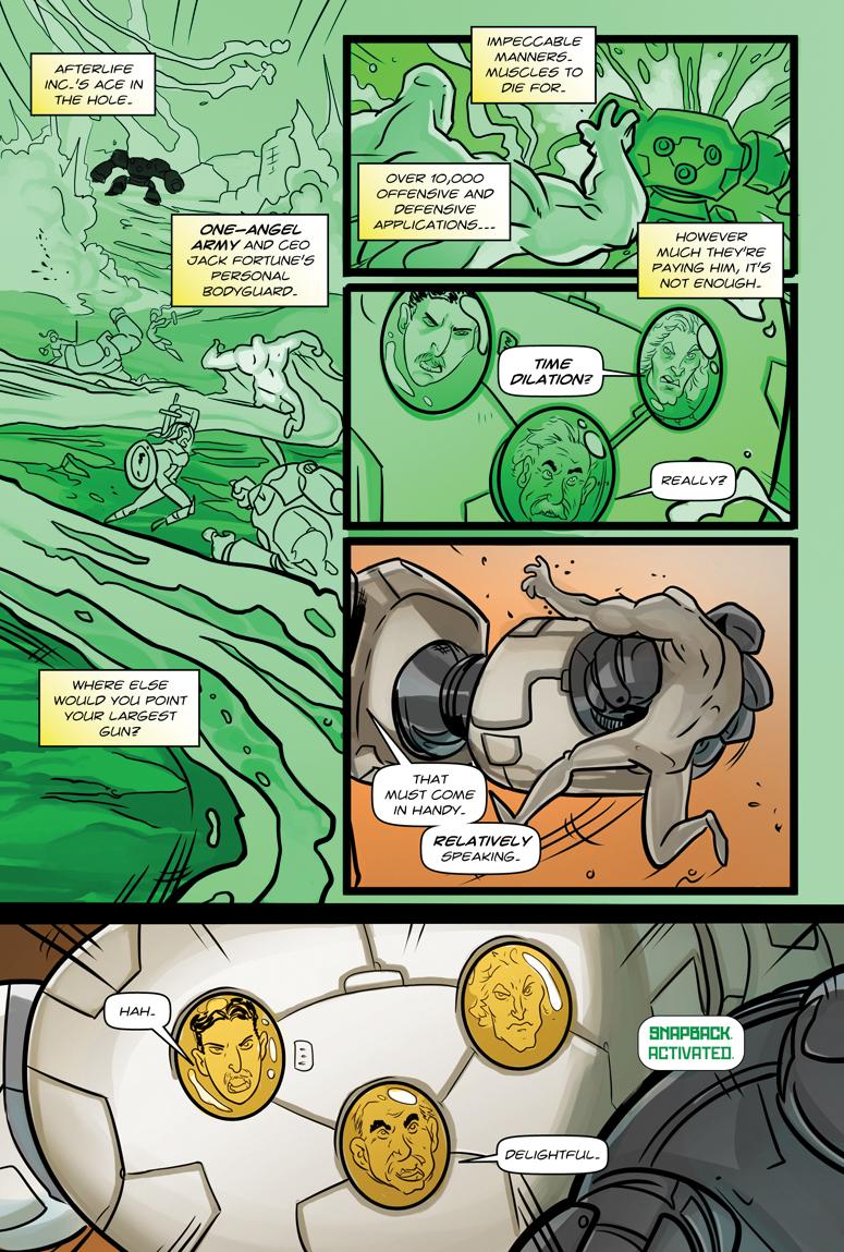 Afterlife Inc. Volume 4: Man Made God Page 52