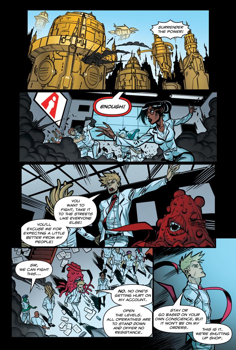 Afterlife Inc. Man Made God Page 86