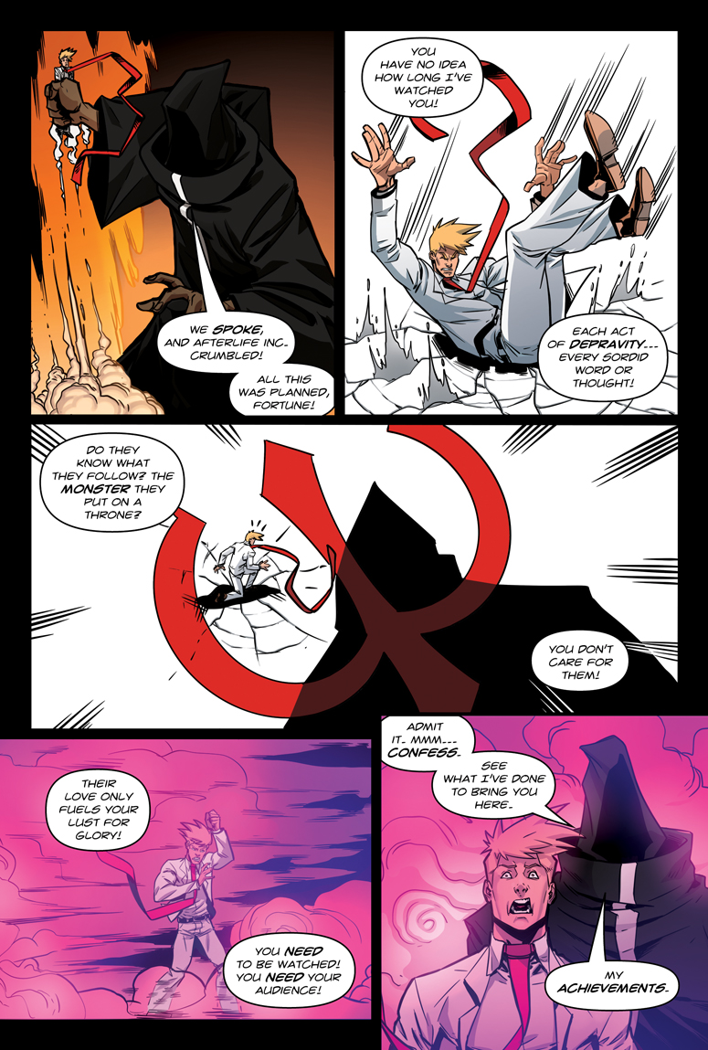 Afterlife Inc. Man Made God Page 121