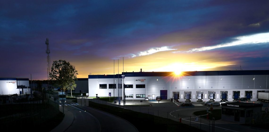 AUTODOC investiert Millionen in neues Lager in Stettin