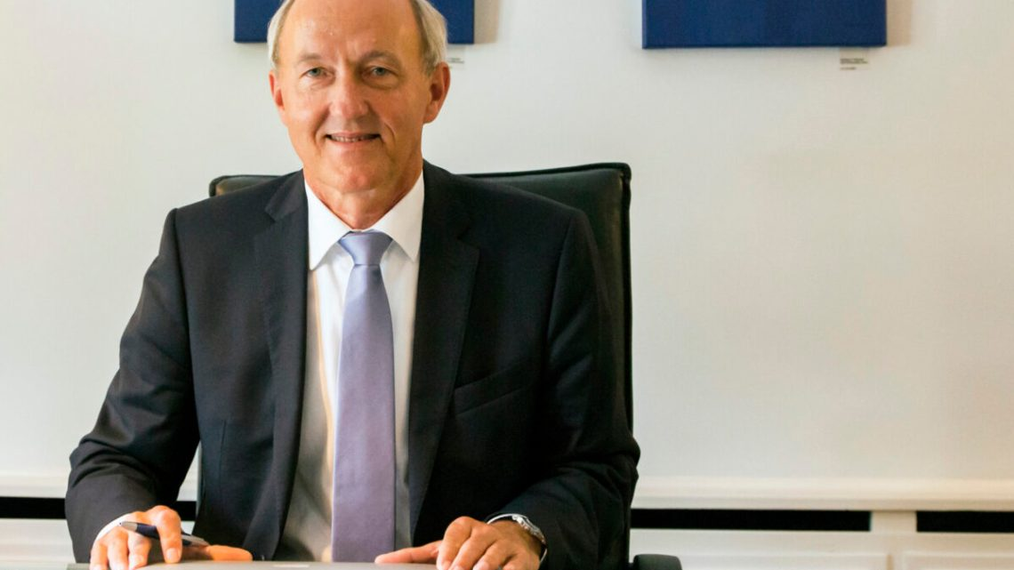VDIK Präsident Reinhard Zirpel