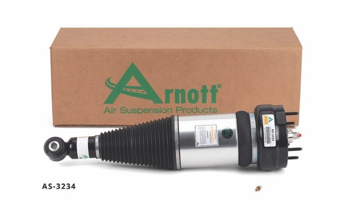 This is the Arnott-designed new rear air strut AS-3234 fits the 2011-2018 Jaguar XJ (X351 Chassis) equipped with both standard or long wheel base and rear or all-wheel drive.