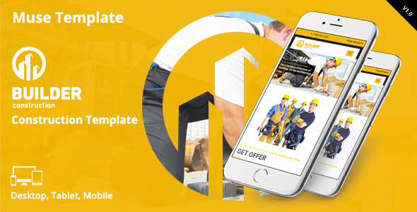 Builder Muse template