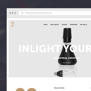 OWL-Digital Muse template