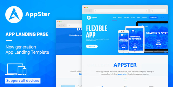 AppSter Muse template