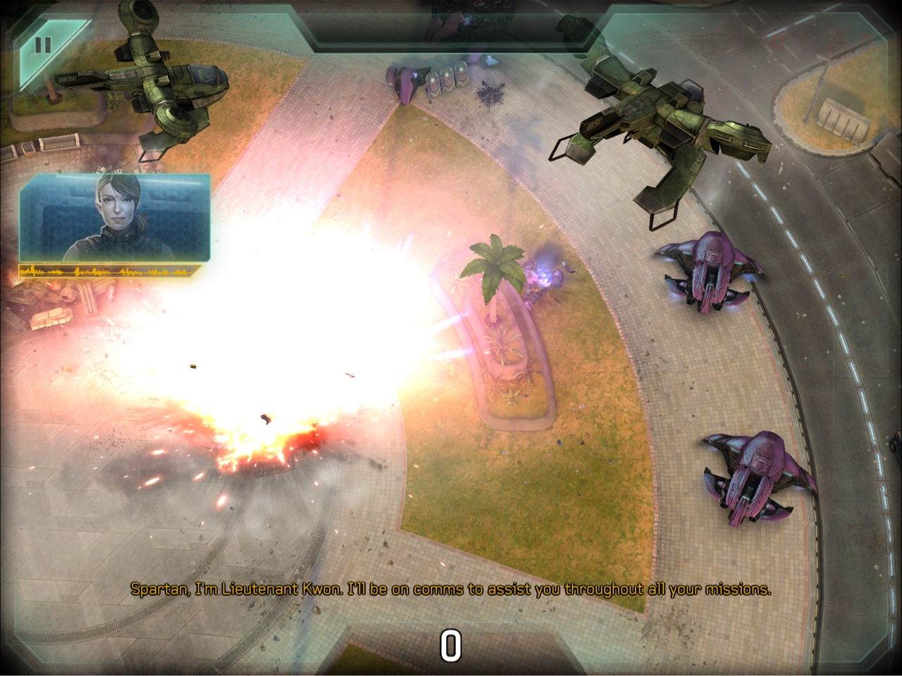 Halo Spartan Strike screenshot