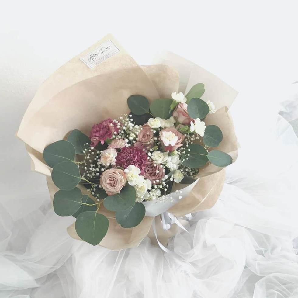 Fresh Flower Bouquet by AFTERRAINFLORIST