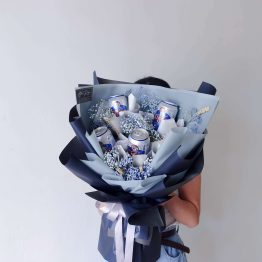 Cheers,For men, Flower & Beer wrapping bouquet by AfterRainFlorist, PJ Florist, KL & Selangor(Klang Valley) Flower Delivery Service