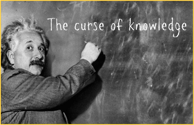 The Curse of Knowledge in Online business