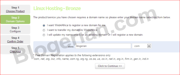 hosting-and-domain-web4afri
