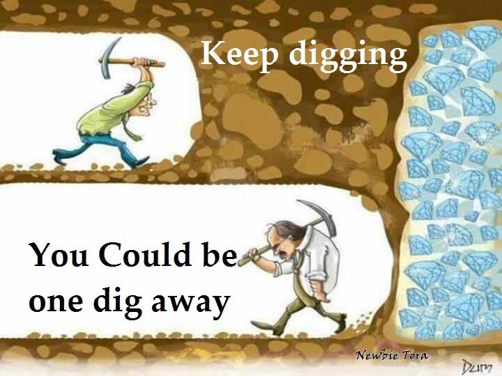 idea like gold digging