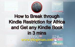 Buy any book on kindle