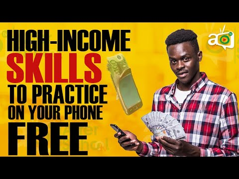 After School Media – 8 High-Income Skills You Can Learn and Practice on Your Phone Right Now for FREE