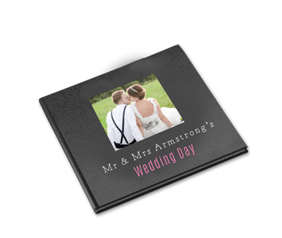 wedding photo book from aftersnap