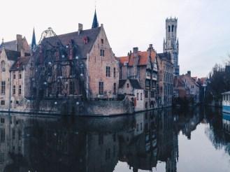 Brugge in twilight