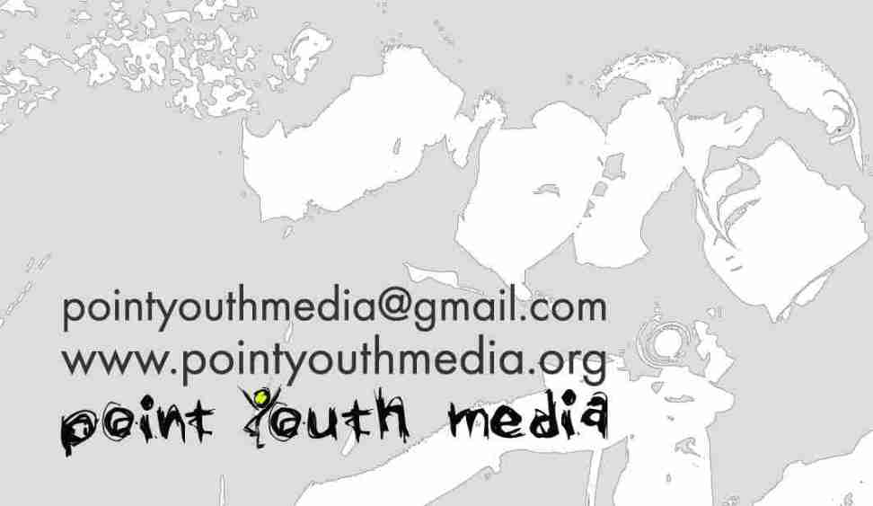 Point Youth Media business card_back