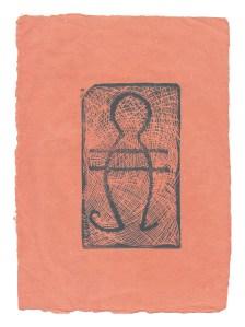 Afuwa Granger seafigure_orangepaper petroglyph