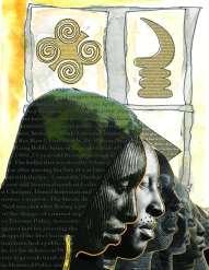 Briarpatch magazine illustration by Afuwa Sept-Oct 2013