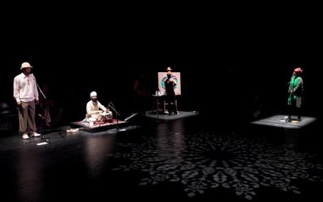 Anu 8 inter-arts performance - Afuwa with Sonny Matharu