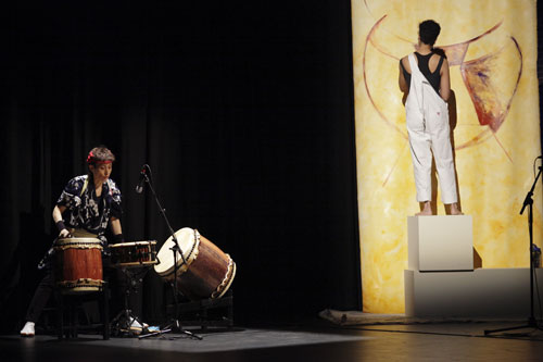Anu - The Mother inter-arts performance with Eileen Kage
