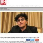 Betullah! Harga Kereta Memang Turun Dato' Sri