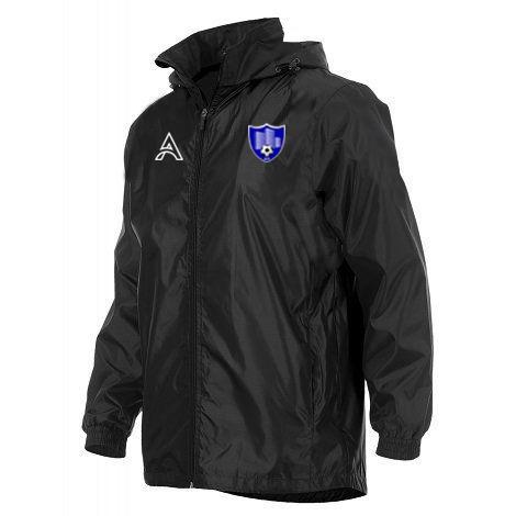 Centroo Black Rain Jacket with Black Arms AFYM-6010