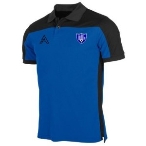 Custom Black and Blue Polo Shirt AFYM-4000