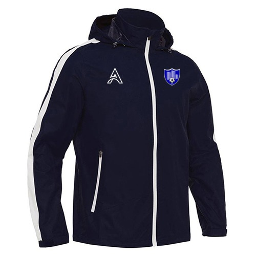 Dark Blue Rain Jacket with Arm Paneling AFYM-6006