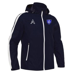 Dark Blue Rain Jacket with Arm Paneling AFYM-6006