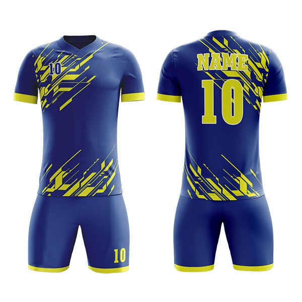 Custom Sublimation Soccer Kits with Front and Back Art AFYM:2014