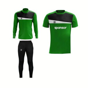 Green and Black,White Panels Training Pack AFYM-8009