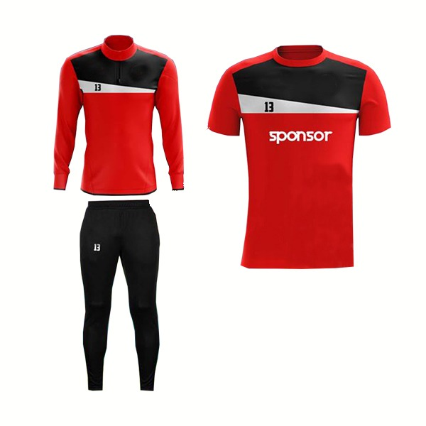 Red and Black,White Panels Training Pack