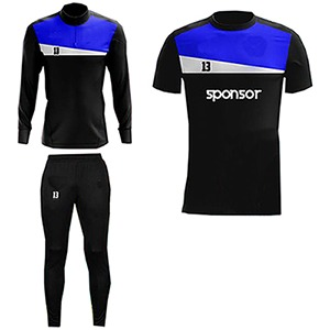 Black and Blue,White Panels Training Pack AFYM-8011