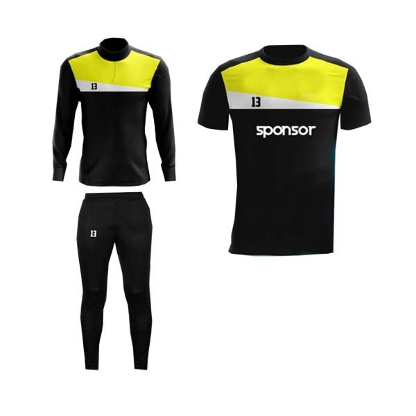 Black and Yellow,White Panels Training Pack