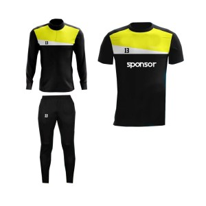 Black and Yellow,White Panels Training Pack AFYM-8012