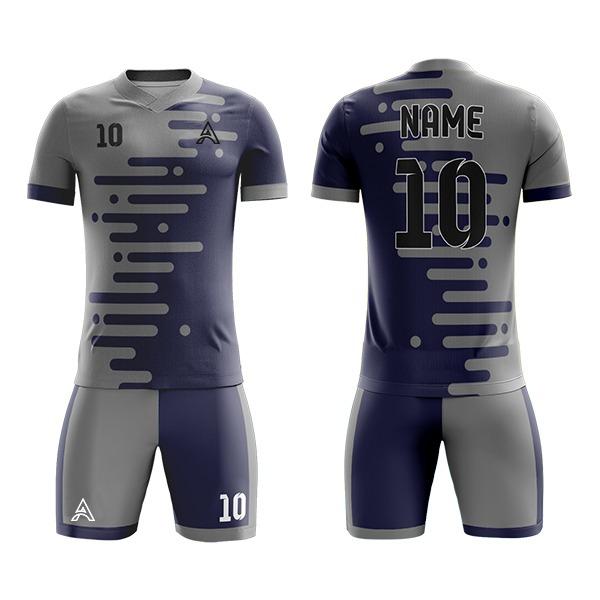 Custom Trimming Sublimation Soccer Kits AFYM-2037