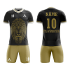 Customize Lion Icon Sublimation Soccer Kit AFYM-2027