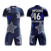 Sublimation Soccer Kits with Stars Painting AFYM:2042