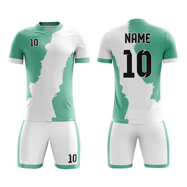 Club Sublimation Soccer Kits with Map Printing AFYM:2060