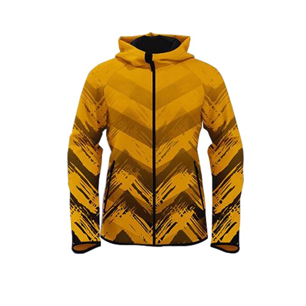 Yellow with Unique Art Club/Team Wear/League Sublimation Hoodie AFYM-5013
