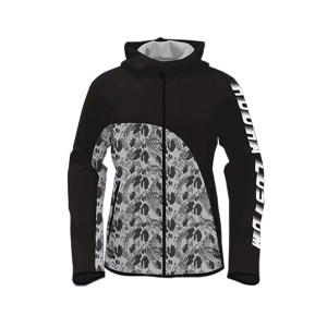 Black with Season Art Sublimation Hoodie AFYM-5019