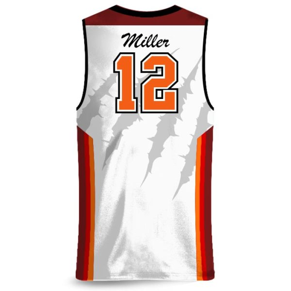 Amped Rainbow Shot Basketball Uniform AFYM-17002