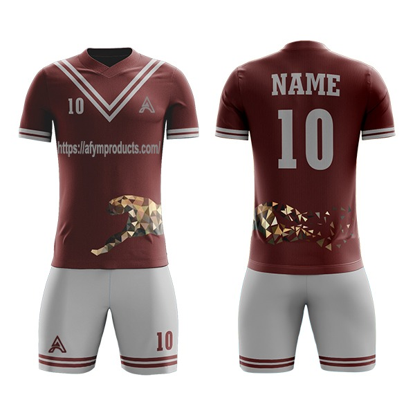 Sublimation Soccer Kit Designs For Club AFYM:2076