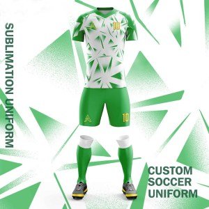 Custom Mirror Shades Sublimation Soccer Uniforms AFYM:2084